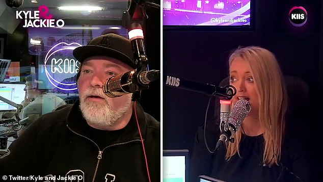 Awkward!FM radio star Jackie O' backtracked from an embarrassing sex question directed towards South Sydney Rabbitoh's fullback Latrell Mitchell
