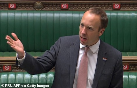Health Secretary Matt Hancock said restrictions currently in place in Bolton would be expanded across the rest of Greater Manchester and Lancashire