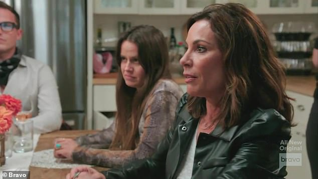 Race talk: The episode opened with the aftermath of Luann de Lesseps kicking Eboni K. Williams out of her house with the Countess telling her daughter and the other ladies that Eboni 'had issues' by constantly bringing up race