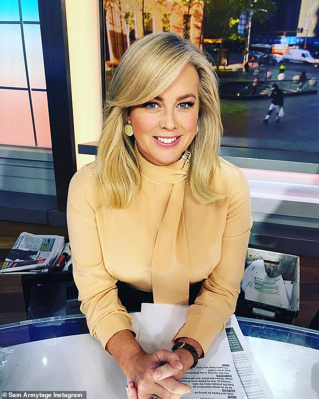 Midday host? Kyle then suggested the return of a midday show and she agreed, adding: 'It would be nice to do something where you don't have to wake up at three o'clock in the morning,' referring to her early call times on Sunrise