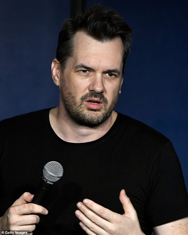 Unimpressed: Comedian Jim Jefferies recently slammed Channel Seven for replacing him as a judge on Australia's Got Talent in favour of Manu Feildel