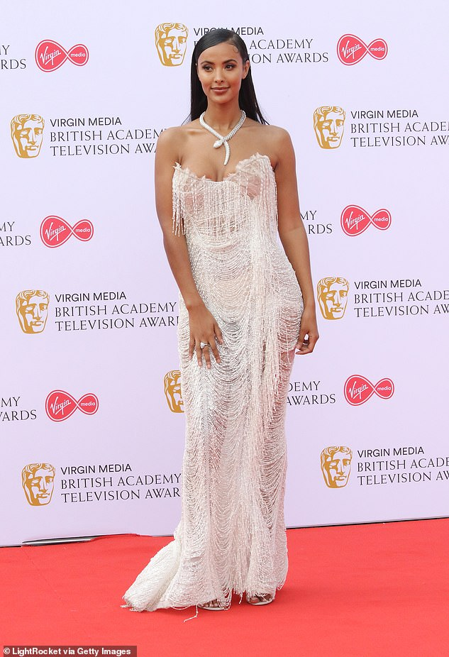 Wow! The presenter has been a fixture at the awards in recent years, and in 2019 graced the red carpet in a busty sheer tasseled gown