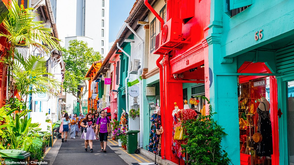 In eighth place is Singapore's Haji Lane – 'a wanderer's paradise filled with interesting shops selling vintage finds, fabrics and more'