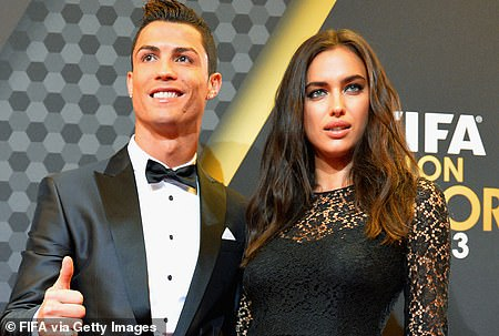 Longtime couple:Shayk and Ronaldo reportedly met through their modeling campaigns for Armani Exchange