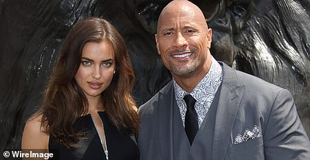 Dating Dwayne:While it was never confirmed, it was rumored that Shayk briefly dated her co-star from the 2014 blockbuster Hercules, Dwayne Johnson