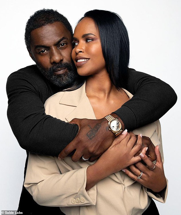 A journey: In a new interview, Idris Elba, 48, and wife Sabrina, 33, have detailed how their marriage is 'forever growing and changing and evolving'