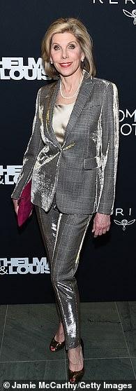 Christine Baranski pictured in 2020
