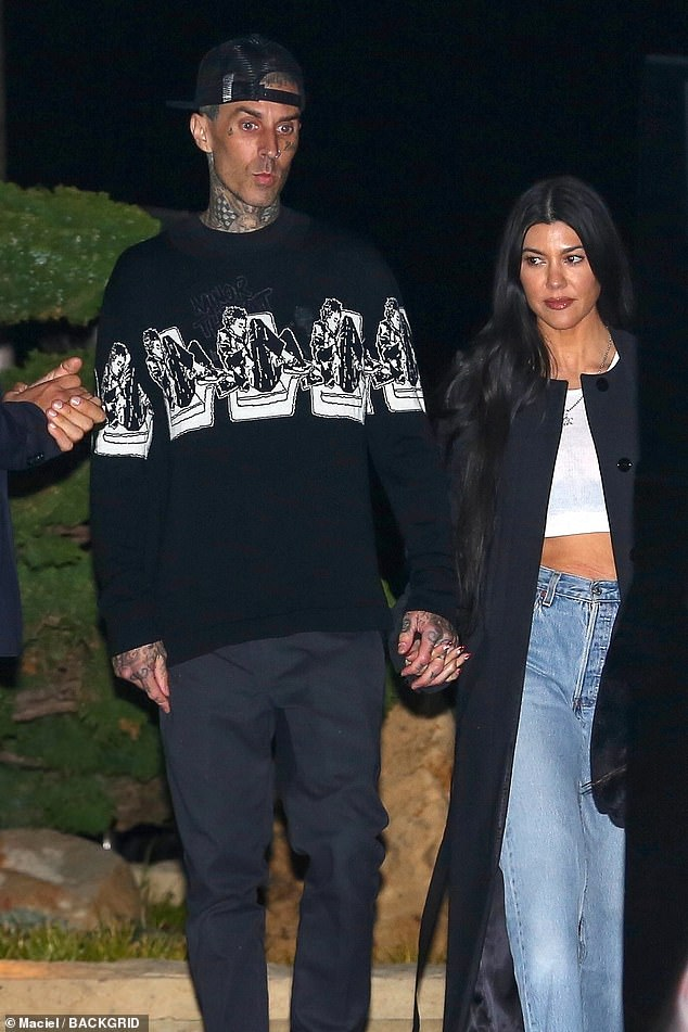 Love is in the air!Travis and Kourtney have been going strong ever since striking up a romance following many years of friendship