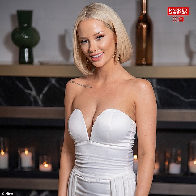 Making a change:She's known for her striking looks, but Married At First Sight's Jessika Power (pictured) is now considering making a significant change to her appearance