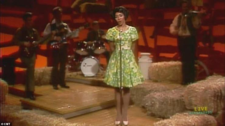 History maker: Martell became the first Black woman to play the Grand Ole Opry