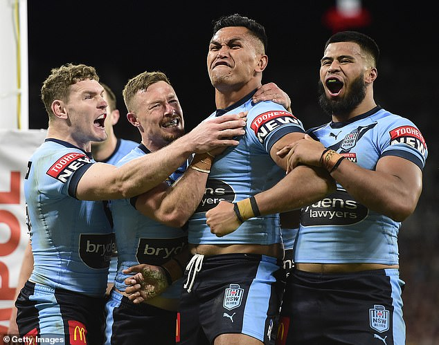 Opening with a victory: Last night's match is the first time an Origin game was played at the new North Queensland stadium in Townsville. Tickets sold out within minutes as 28,000 fans attended live