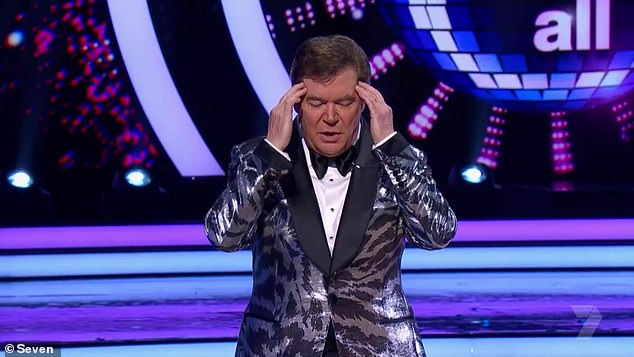 Escalating dispute:Alex Mathey claimed the three-time Gold Logie winner, 69, treated him 'appallingly' and 'cruelly' throughout their working relationship. Somers (pictured on Dancing with the Stars) strongly denies this and is seeking damages