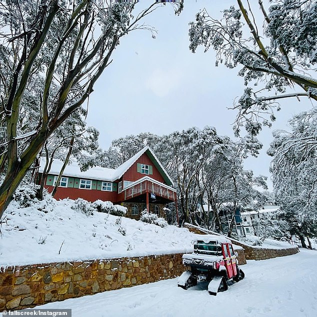 Victorian alpine resorts such as Falls Creek (pictured) is also ready for a busy June long weekend