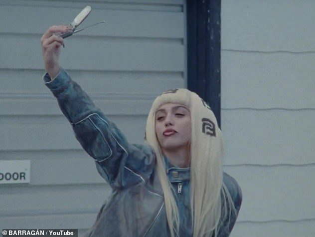 Lola commences with Leon arriving to a run down motel in a lived-in looking denim jacket and matching pants
