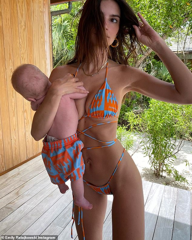 You ok?The now controversial snaps, shared on June 6, sparked backlash, with keyboard warriors eager to point out that the model did not seem to be supporting the little one's head