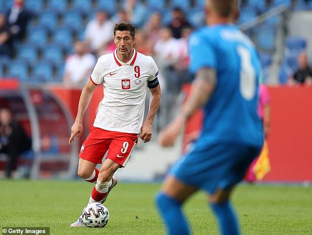 Robert Lewandowski is a goalscoring machine and is getting better as he gets older