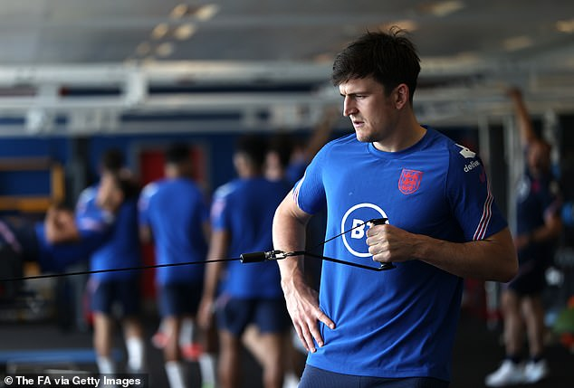 Southgate may go to a back three amid injury concerns to starting defender Harry Maguire