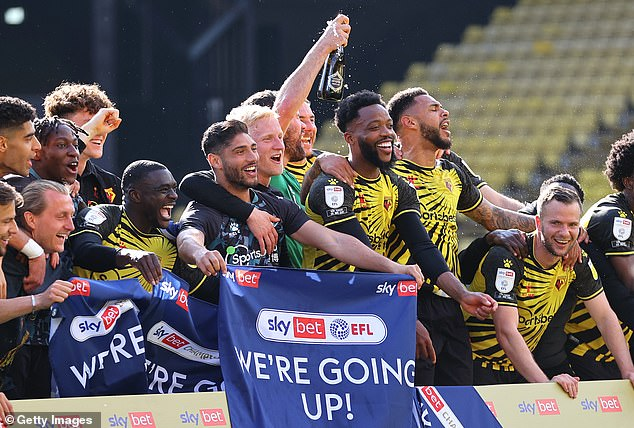 Norwich were promoted from the Championship to the Premier League in the 2020/21 season