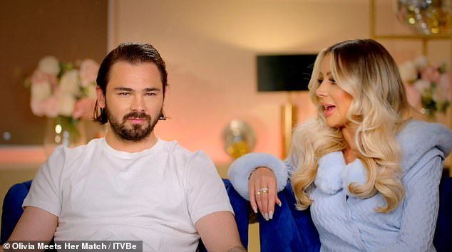 TV show: Olivia and Bradley are the stars of the ITVBe show Olivia Meets Her Match and recently welcomed a new addition