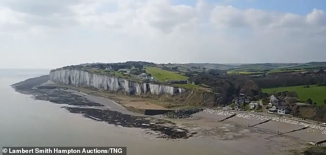 It is close to the iconic White Cliffs of Dover and for the right person it could have a lot of potential