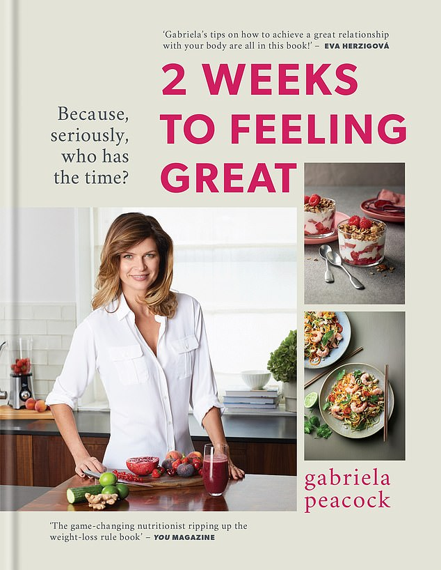 Her methods have been praised by her 'BFF' Princess Beatrice, as well as Jodie Kidd and Dame Joan Collins - with Tatler saying she's 'on speed dial anytime she needs advice on looking and feeling fabulous'.2 Weeks to Feeling Great by Gabriela Peacock is published by Kyle Book, priced £20