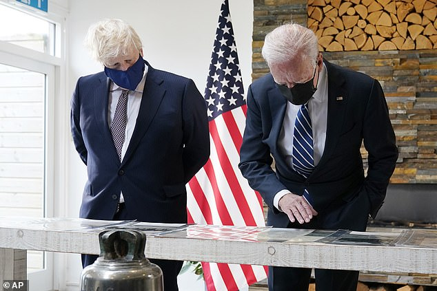 The Prime Minister said the new charter will 'form the foundation of a sustainable global recovery' as he and the US President promised the world a 'better future'