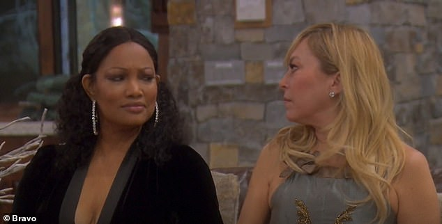 Skeptical:Garcelle and Sutton Stracke both looked at each other confused at Dorit's answer