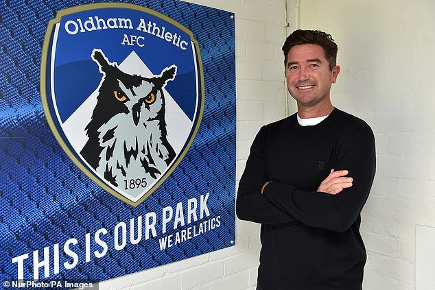 The 42-year-old Australian left Sky Bet League Two side Oldham back in March