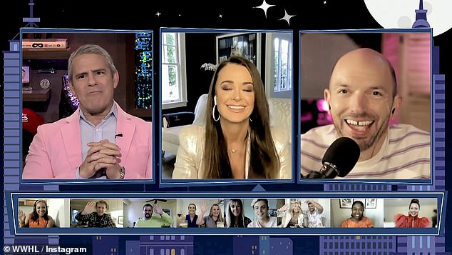 That's a long shot!Comedian Paul Scheer, who was also a guest on WWHL, jokingly asked if she would be appearing on season two of Bethenny's reality show The Big Shot