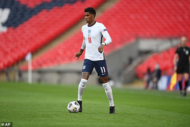 Rashford is currently preparing for Euro 2020 with England, also sponsored by Nike