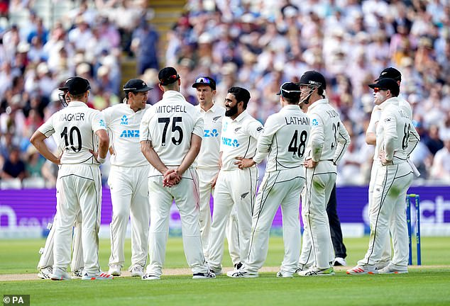 New Zealand have used 17 players at Lord's and Edgbaston – only one short of the Test record for a two-match series