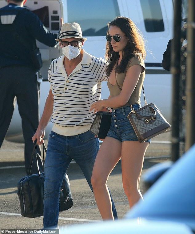 Superb: Ryan seemed very comfortable with his partner Aubrey