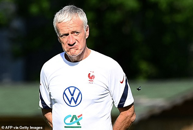 Didier Deschamps called a team meeting and insited his players had to move on