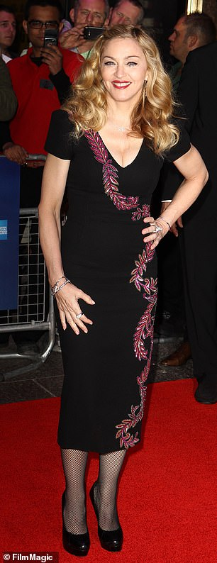 Madge's premiere glamour