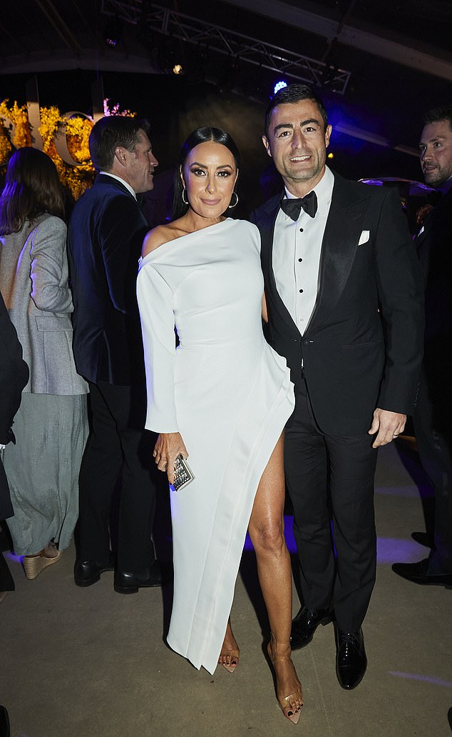 In good company: It seems they were in good company as Chris Hemsworth, Rose Byrne and Karl Stefanovic also made an appearance on the night