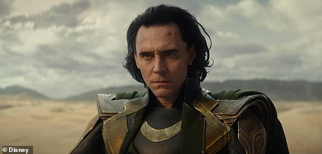 Make a splash: Disney + Marvel show Loki garnered huge ratings when it debuted Wednesday, with more than 890,000 US households tuned in to see the Tom Hiddleston series debut