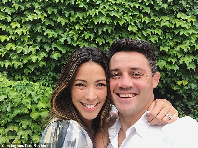 Their story: The high-profile pair tied the knot in a star-studded ceremony on Sydney's Northern Beaches in December 2017 and welcomed Lennox the following July
