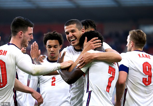The 19-year-old scored his first senior Three Lions goal in the warm-up win over Austria