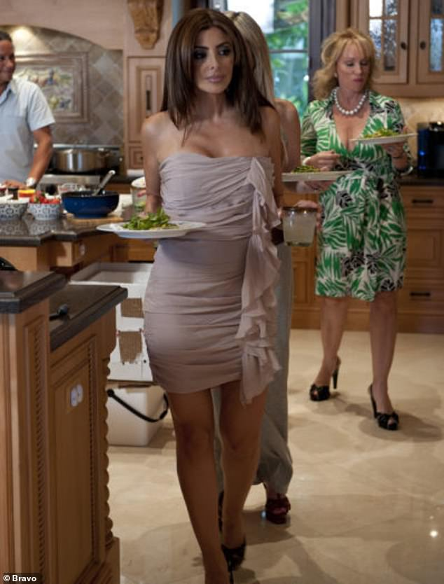 Seen here back on the first season of RHOM in 2011: Larsa, however, only appeared in the show's first season, in just seven episodes