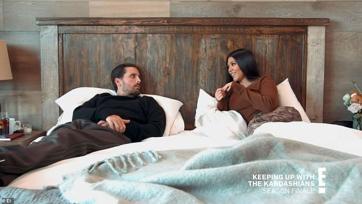 Clarity: It's Kourtney, 42, that kicks off the final episode as she gives ex Scott Disick some clarity about where they stand romantically