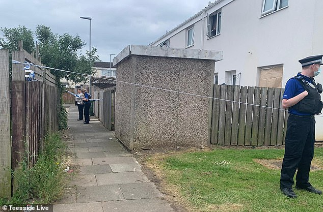 Cleveland Police confirmed a 15-year-old girl and a woman were arrested in connection with a body found close to the centre of Thornaby, Teesside at around 12.40am yesterday