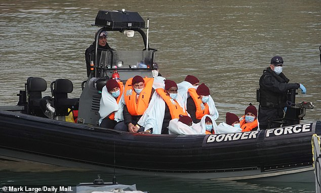 An estimated 4,725 migrants have crossed the Channel this year, with 8,410 having made the journey in 2020