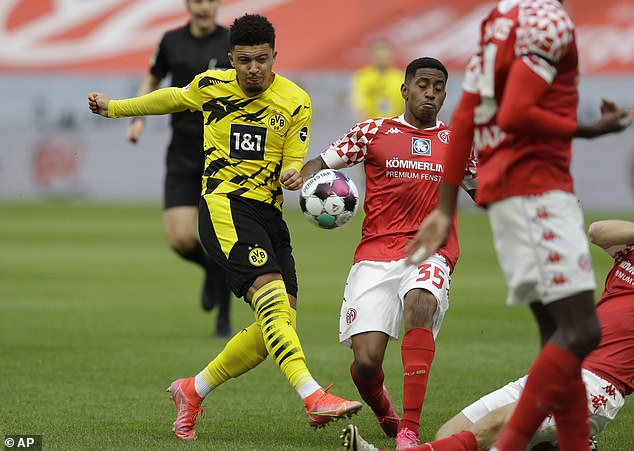 Sancho has agreed personal terms worth £350,00-a-week to join the Red Devils this summer