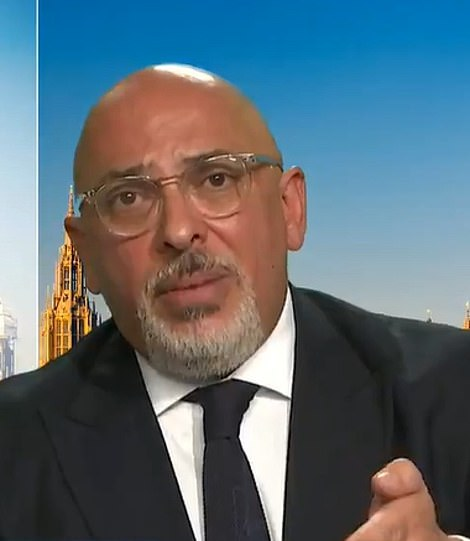 Vaccines minister Nadhim Zahawi said the UK must be 'really careful' so not to 'squander' gains made with vaccines