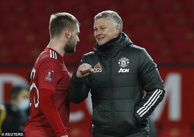 The left-back's game has come on considerably under current boss Ole Gunnar Solskjaer