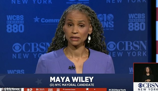 Maya Wiley's campaign team has been forced to deny that she intends to disarm NYPD cops