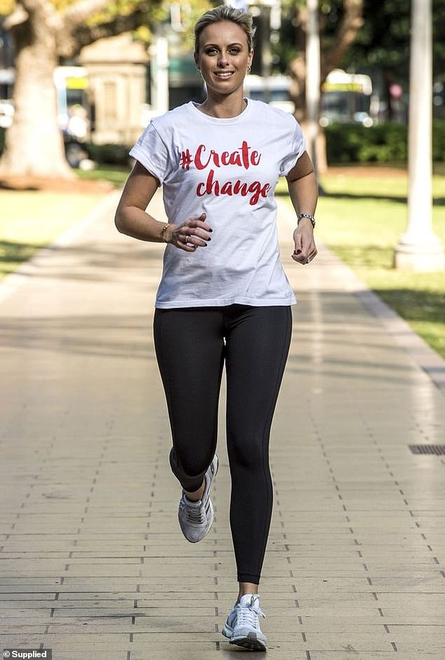 Wow!Sylvia Jeffreys (pictured) welcomed her second child, a son named Henry, just ten weeks ago. Abd Nine News presenter is already challenging herself with a five kilometre marathon