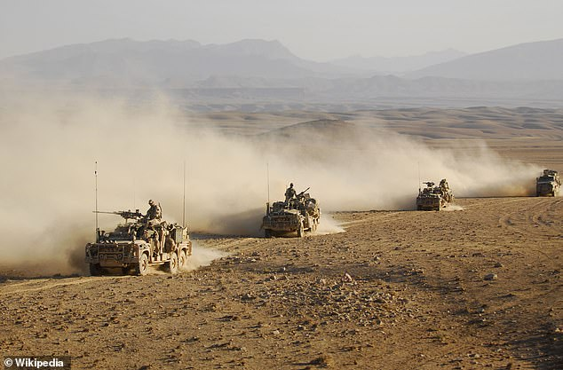 Mr Roberts-Smith served six operational tours in Afghanistan with the elite Special Air Service and left the regular army in 2013 with the rank of corporal. Stock image of Australian special forces troops in Afghanistan
