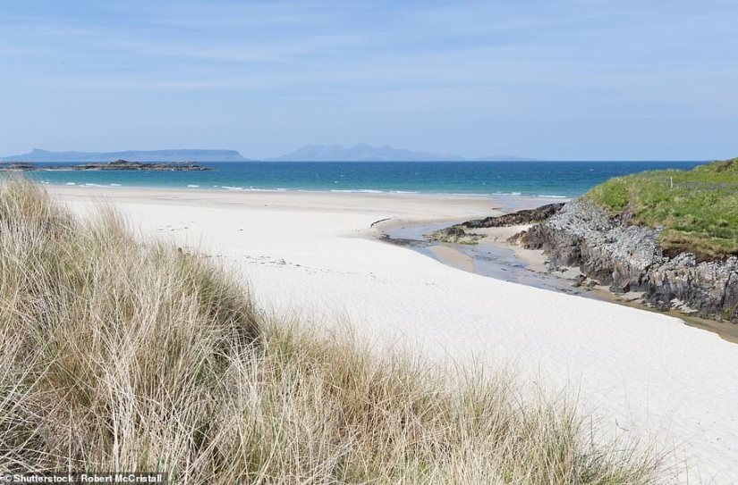 StunningCamusdarach Beach, one of many in Scotland that tourism bosses say rival the Caribbean