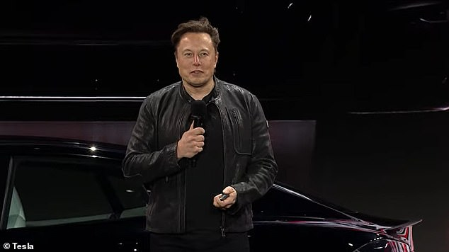 'Faster than Porsche but safer than Volvo,' CEO Elon Musk said during the livestream